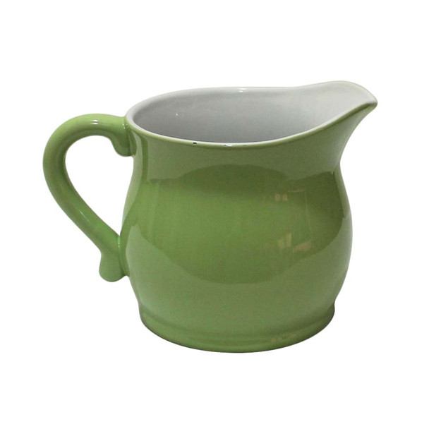 Light Green Ceramic Pitcher