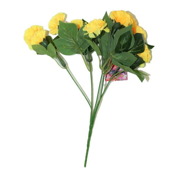"""12""""  Yellow Short Bunch Flower"""