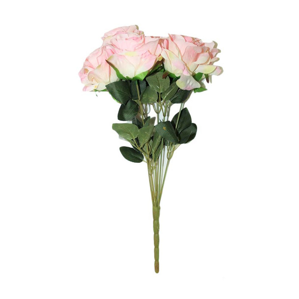 """16""""  Pink Bunch Of Roses"""