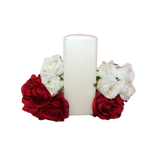 """2.75"""" X 7"""" Ivory Square Pillar Candle"""