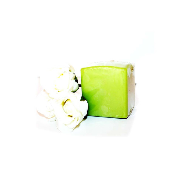 "2.75"" X 3"" Green Apple Square Pillar Candle"