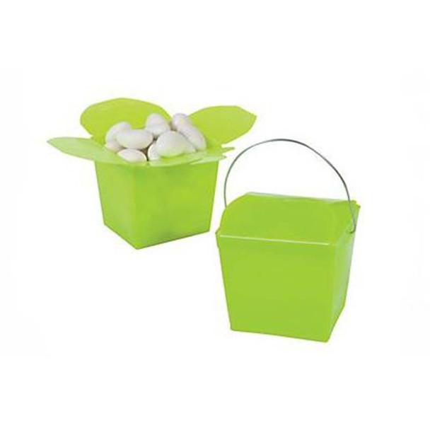 "2.25"" Lime Green Take Out Boxes"