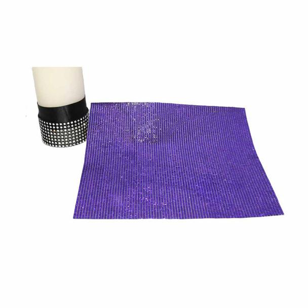 "10"" x 11"" Purple Diamond Sticker Sheet"