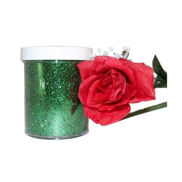 11.5 Oz Green Glitter