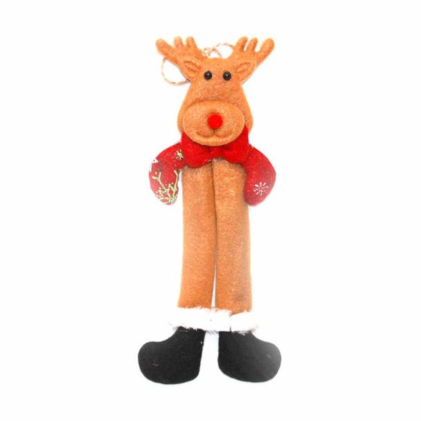 Felt Reindeer Christmas Ornament