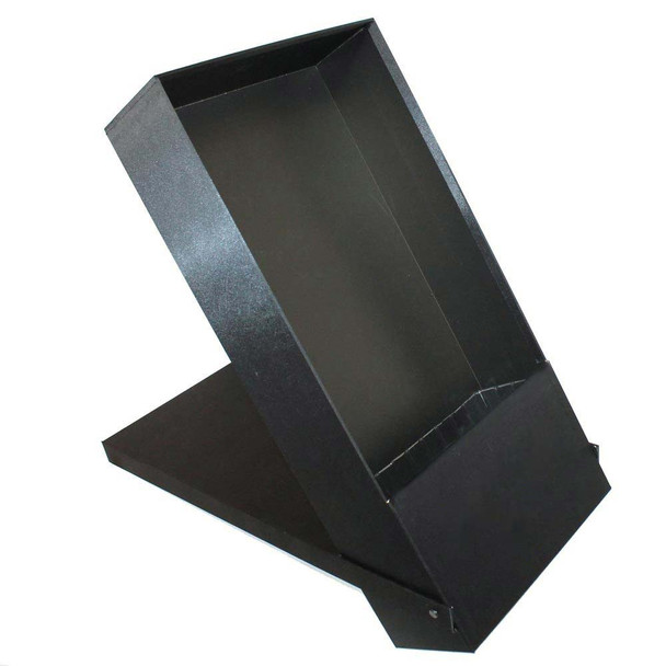 Black Folding and Standing Rose Gift Box with Liner