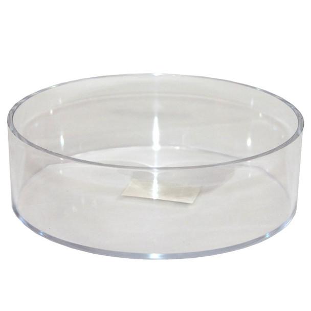 """8"""" x 2.5""""  Small Round Acrylic Tray"""