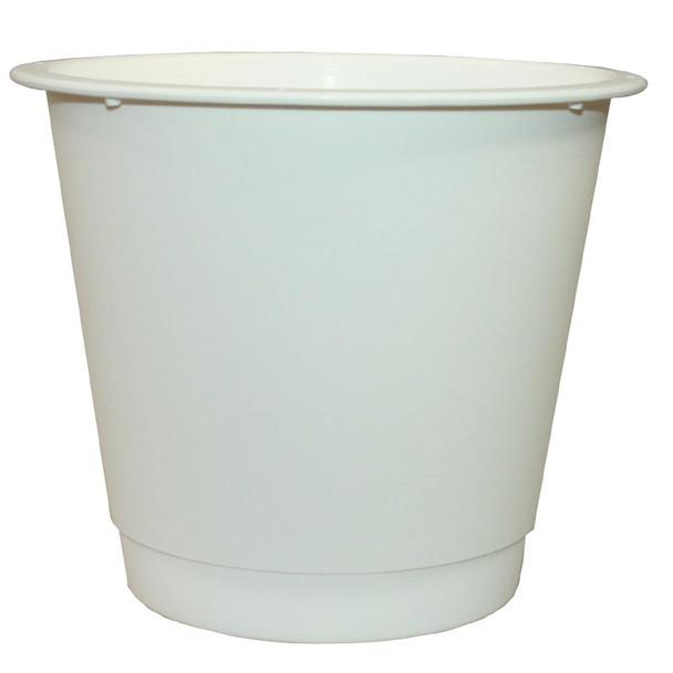 """10"""" Large White Plastic Bucket"""