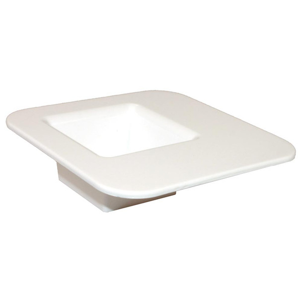 "9"" White Square Tray"