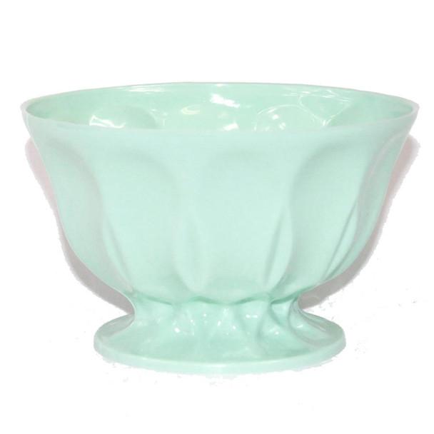"""6"""" Light Green Revere Plastic Bowl"""