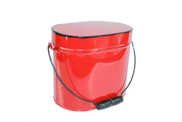Red Enamel Box