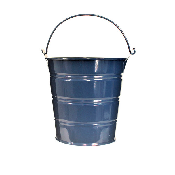 4'' Royal Blue Metal Bucket