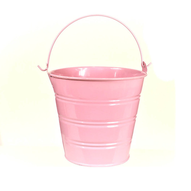 5'' Pink Metal Bucket