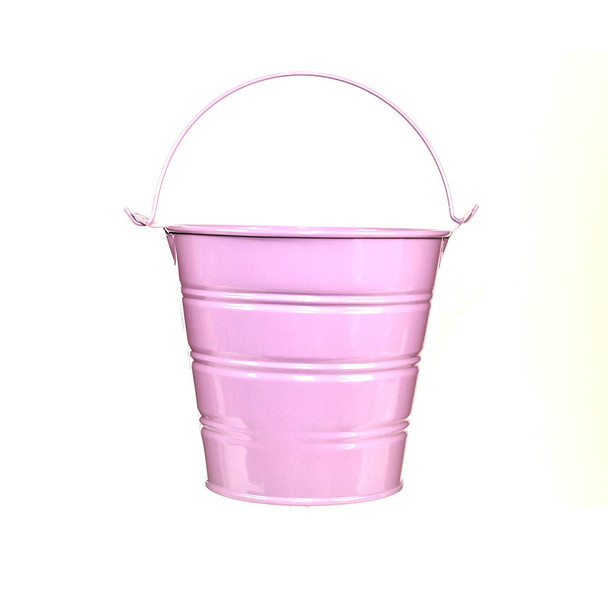 5'' Purple Metal Bucket