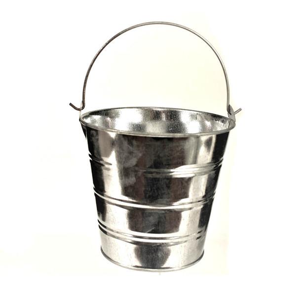 5'' Zinc Metal Bucket