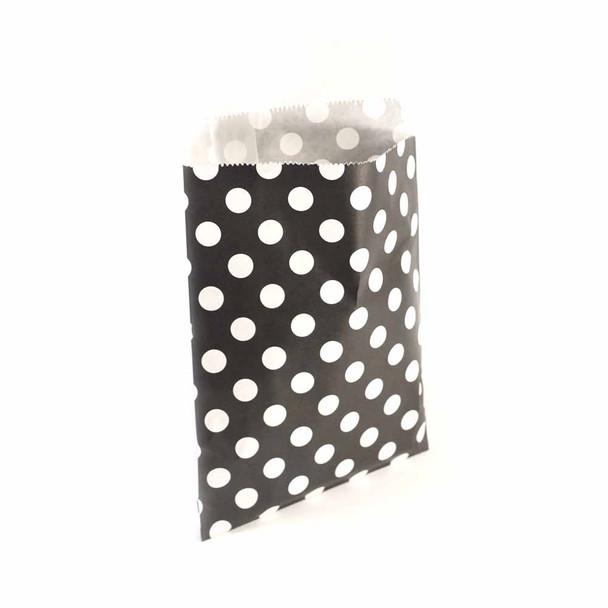 """7""""H Black Paper Heat Bags 12 pieces"""