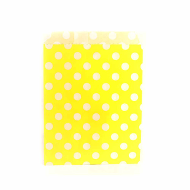 "7""H Yellow Paper Heat Bags 12 pieces"