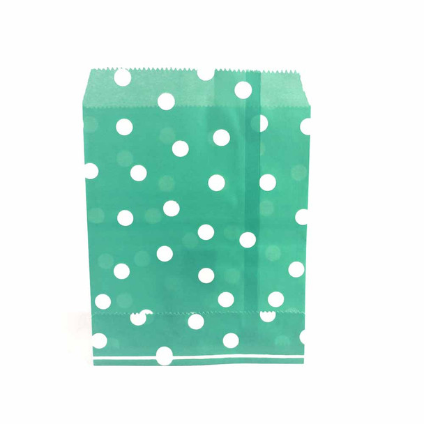 "7""H Green Paper Heat Bags 12 pieces"