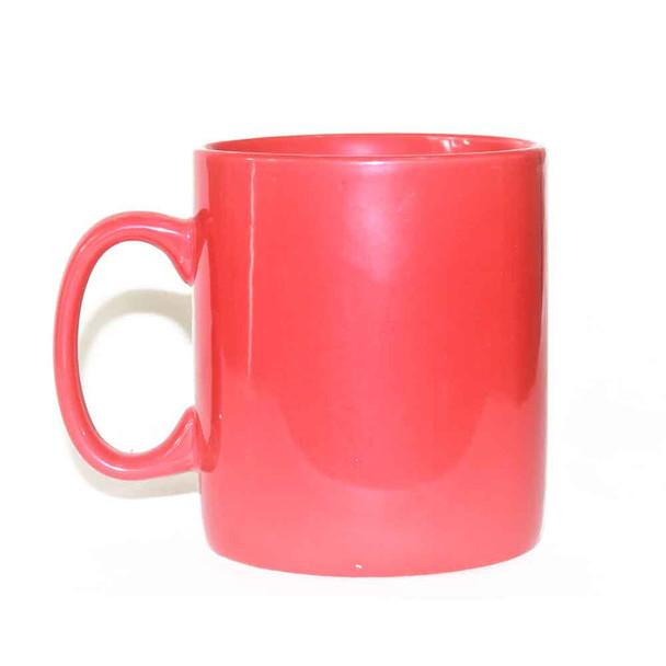 30oz Red Ceramic Mug