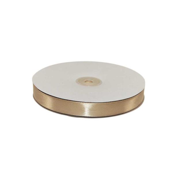 5/8'' Gold Single Face Satin Ribbon