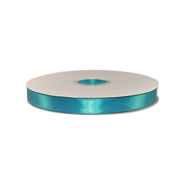 5/8'' Mint Blue Single Face Satin Ribbon