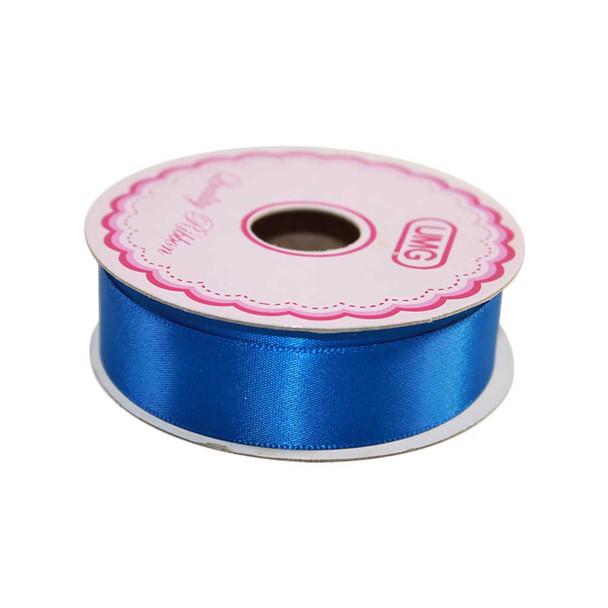 3/4'' Royal Blue Single Face Satin Ribbon