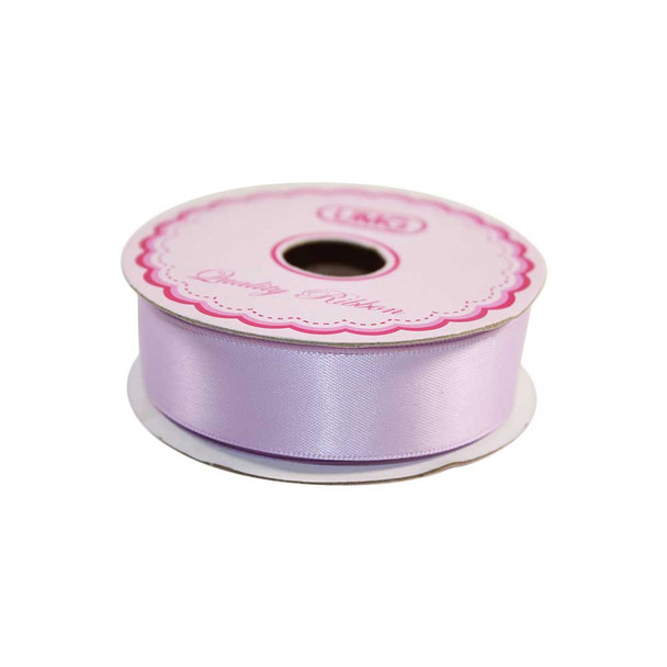 3/4'' Lavender Single Face Satin Ribbon