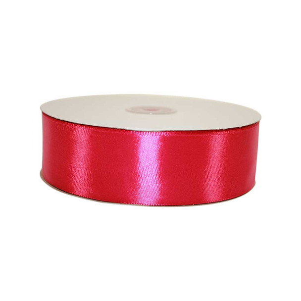 1.5'' Fuchsia Single Face Satin Ribbon