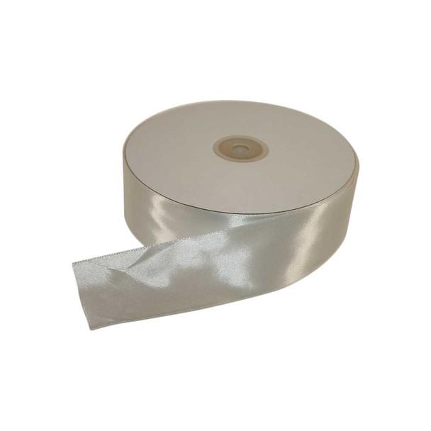 1.5'' White Single Face Satin Ribbon