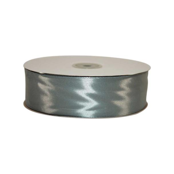 1.5'' Silver Single Face Satin Ribbon