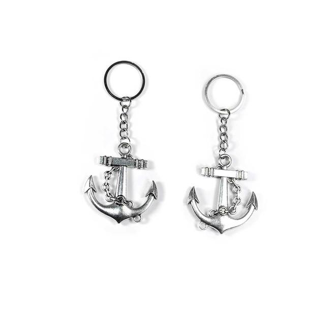 Silver Anchor Key-chain