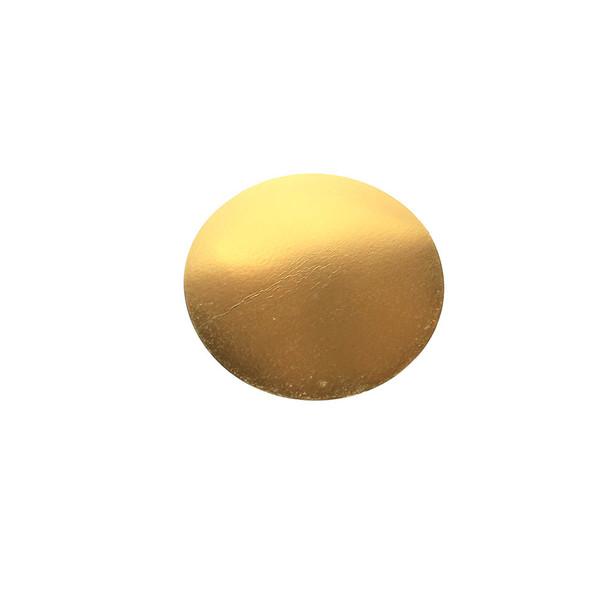 """8"""" Gold Circle Cake Pad"""
