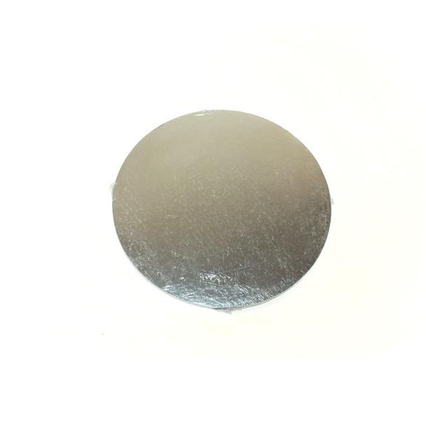 "8"" Silver Circle Cake Pad"