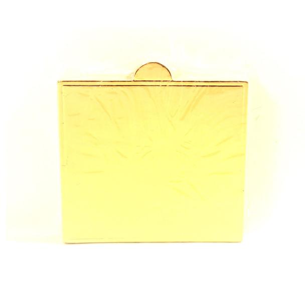 """3.5""""  Gold Mini Dessert Pad"""