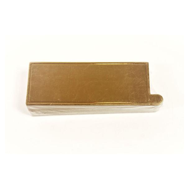 """4 1/2"""" Gold Mini Dessert Pad"""
