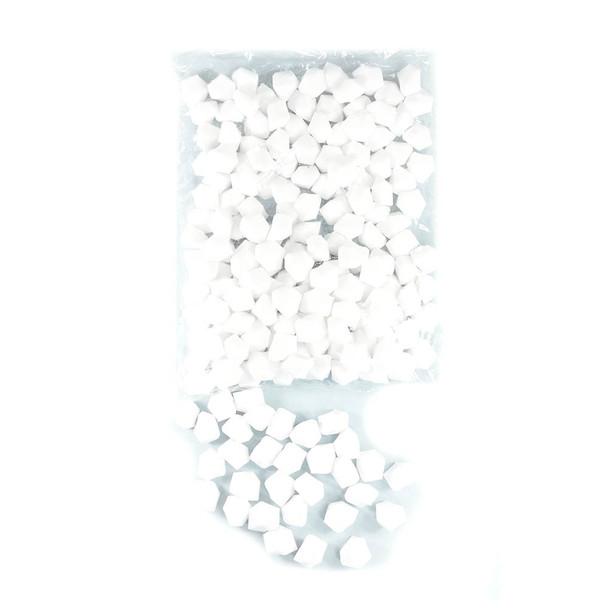 1 LB  White Ice Rocks