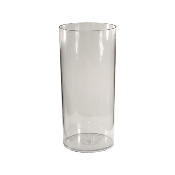 15.75''H Clear Acrylic Cylinder Vase
