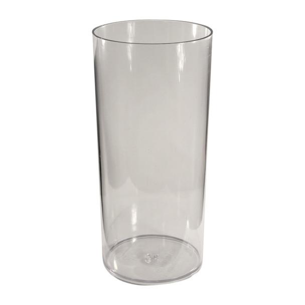 19.75''H Clear Acrylic Cylinder Vase