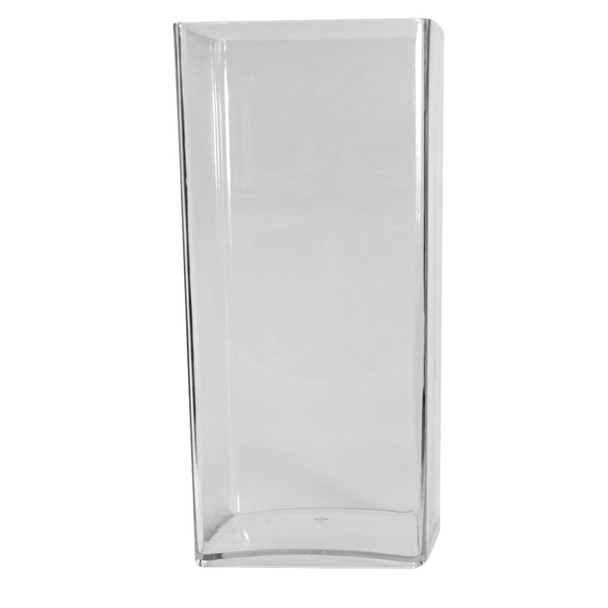 23.75''H Clear Acrylic Square  Vase