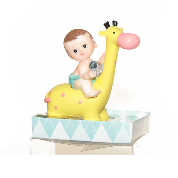 "3.5""  Yellow Giraffe Baby Boy"