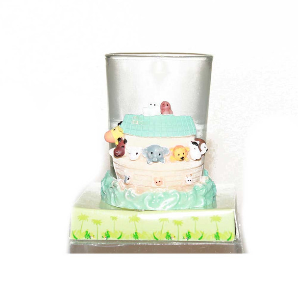"2.5""  Noah's Ark Baby Votive Candle"