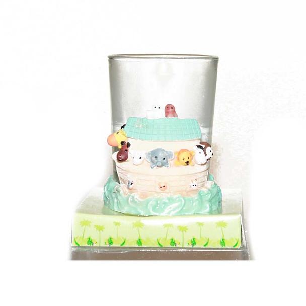 "2.5""  Noah's Ark Baby Votive Candle"