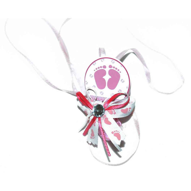Pink Pacifier Necklace