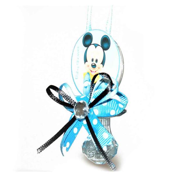 Blue Pacifier Necklace