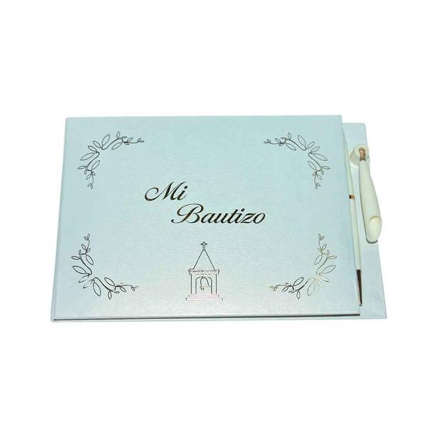 "8""  MI BAUTIZO  Guest Book"