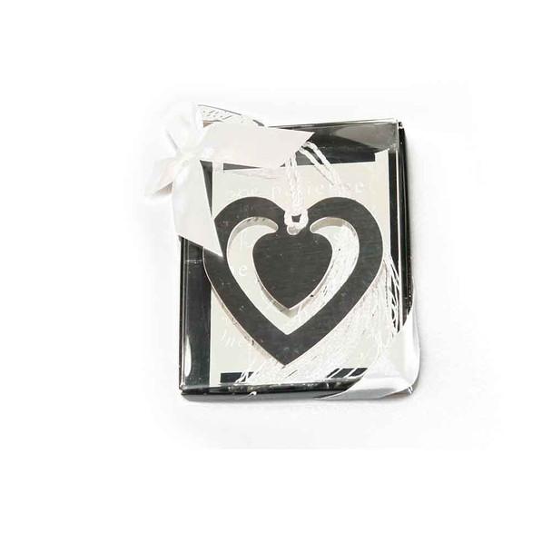 "2.25""  Heart Bookmark"