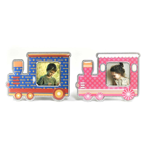 "3.75""  Train Shape Frame With Magnet"