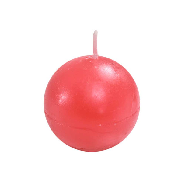 "2"" Red Ball Candle"