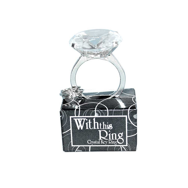 Crystal Key Ring Holder