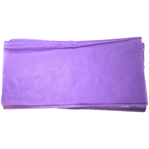 """24"""" Lavender Non-Woven Floral Wrapping Paper -  50 Sheets"""